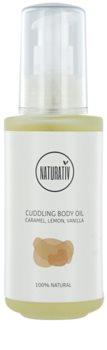Naturativ Body Care Cuddling óleo corporal com efeito hidratante