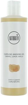 Naturativ Body Care Cuddling gel de ducha suave con glicerina