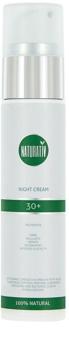 Naturativ Face Care 30+ Nachtcreme gegen die ersten Anzeichen von Hautalterung