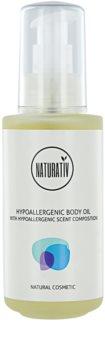 Naturativ Body Care Hypoallergenic óleo corporal e para massagem com efeito hidratante