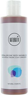 Naturativ Body Care Hypoallergenic sprchový gel pro obnovu kožní bariéry