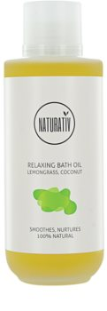Naturativ Body Care Relaxing óleo de banho para hidratação de pele e com efeito lifting
