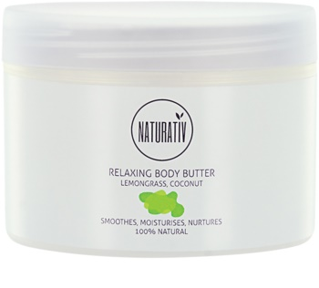 Naturativ Body Care Relaxing Body Butter with Smoothing Effect