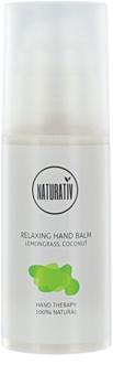 Naturativ Body Care Relaxing Creme hidratante para mãos