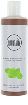 Naturativ Body Care Relaxing gel de duche com glicerol