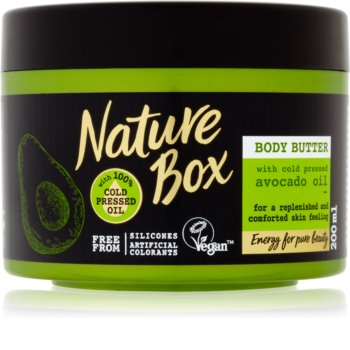 Nature Box Avocado burro nutriente corpo