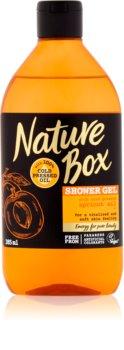 Nature Box Apricot revitalizační sprchový gel
