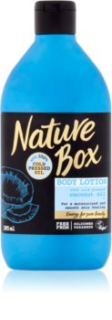 Nature Box Coconut lait corporel hydratant