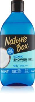 Nature Box Coconut erfrischendes Duschgel mit feuchtigkeitsspendender Wirkung