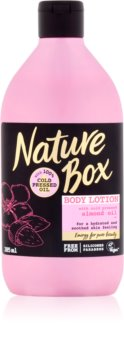 Nature Box Almond latte idratante corpo per pelli sensibili