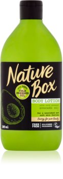 Nature Box Avocado leche corporal nutritiva
