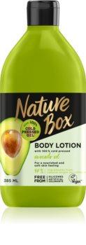 Nature Box Avocado lotiune de corp hranitoare