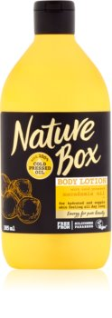 Nature Box Macadamia latte nutriente corpo effetto idratante