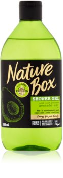Nature Box Avocado gel douche traitant