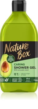 Nature Box Avocado gel douche traitant