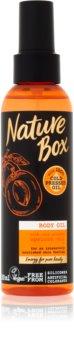 Nature Box Apricot intenzivně vyživující tělový olej
