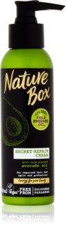 Nature Box Avocado відновлюючий крем для волосся з посіченими кінчиками