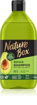 Nature Box Avocado tiefenwirksames regenerierendes Shampoo für fusselige Haarspitzen
