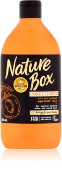 Nature Box Apricot negovalni balzam za zdrav sijaj