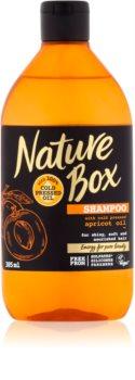 Nature Box Apricot Närande schampo för glansigt och mjukt hår