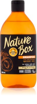 Nature Box Apricot sampon hranitor pentru un par stralucitor si catifelat