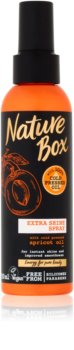 Nature Box Apricot Mjukgörande spray för glansigt och mjukt hår