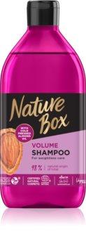 Nature Box Almond objemový šampon pro hustotu vlasů