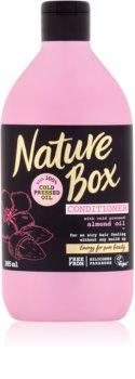 Nature Box Almond balzam za fine in tanke lase