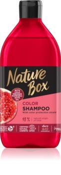 Nature Box Pomegranate хидратиращ и ревитализиращ шампоан за защита на цветовете