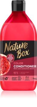 Nature Box Pomegranate balsam profund hrănitor pentru protecția culorii