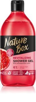 Nature Box Pomegranate povzbuzující sprchový gel