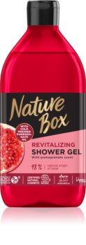 Nature Box Pomegranate зареждащ с енергия душ гел