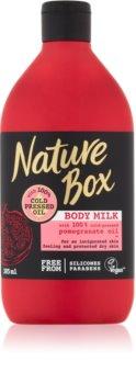 Nature Box Pomegranate lait corporel énergisant pour un effet naturel