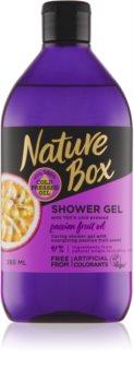 Nature Box Passion Fruit Gel de duș energizant