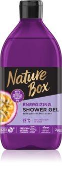 Nature Box Passion Fruit energizáló tusfürdő gél