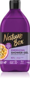 Nature Box Passion Fruit енергизиращ душ-гел