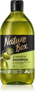 Nature Box Olive Oil shampoo protettivo contro la rottura dei capelli