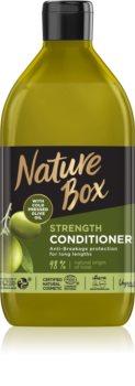 Nature Box Olive Oil ochranný kondicionér proti lámavosti vlasů