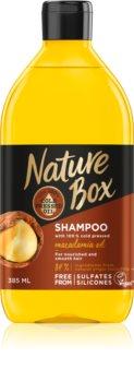 Nature Box Macadamia Oil Ravitseva Hiustenpesuaine