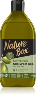 Nature Box Olive Oil омекотяващ душ гел