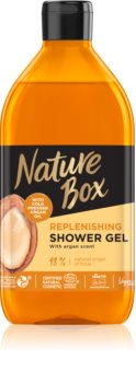 Nature Box Argan Nærende brusegel Med Arganolie