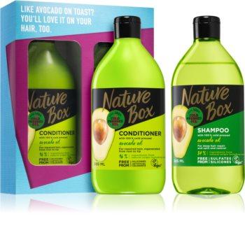 Nature Box Avocado set cadou (pentru păr)