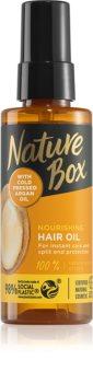 Nature Box Argan vyživující olej na vlasy