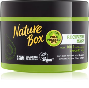 Nature Box Avocado intenzívna regeneračná maska pre poškodené vlasy