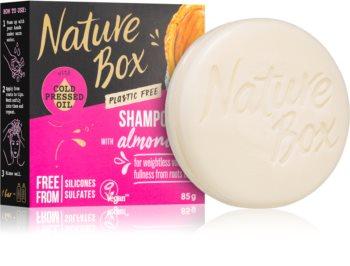 Nature Box Shampoo Bar Almond Oil festes