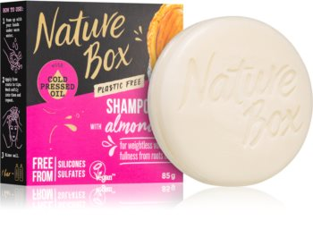 Nature Box Shampoo Bar Almond Oil tuhý šampon