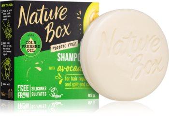 Nature Box Shampoo Bar Avocado Oil tuhý šampon