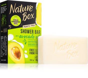 Nature Box Shower Bar Avocado Oil Naturlig sæbebar