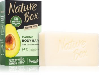 Nature Box Avocado čvrsti sapun za čišćenje