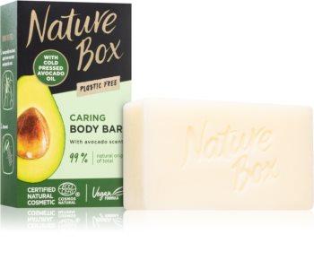 Nature Box Avocado почистващ твърд сапун